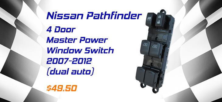 nissan pathfinder power window switch