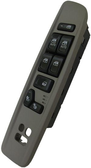 Combination Door Lock >> GMC Envoy Power Window Switch 2003-2004 OEM (Heated Seats) (Dark Pewter)
