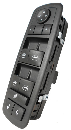 jeep liberty power window switch 2008 2009 oem 1 touch up. Black Bedroom Furniture Sets. Home Design Ideas