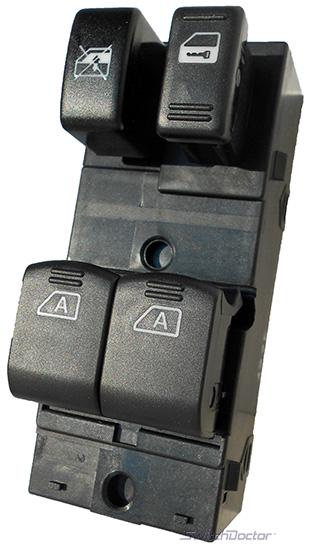 Nissan 350z power window switch 2003 2006 oem for 2000 nissan quest power window switch