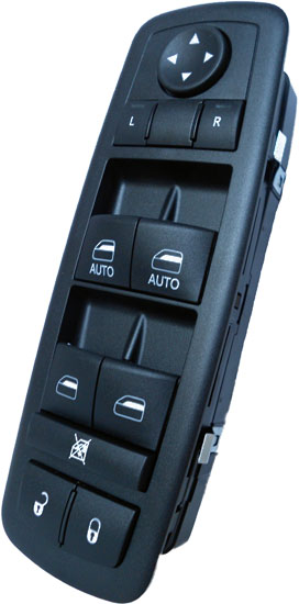 Dodge Ram 2500 3500 Master Power Window Switch 2010-2012 OEM (4 Door)