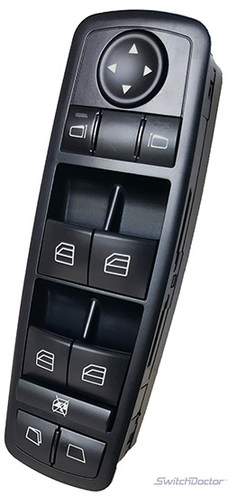 Mercedes-Benz R500 Master Power Window Switch 2006-2007 (Electric Side Windows)