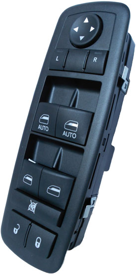 Jeep Liberty Master Power Window Switch 2008-2012 (1 Touch Up & Down)