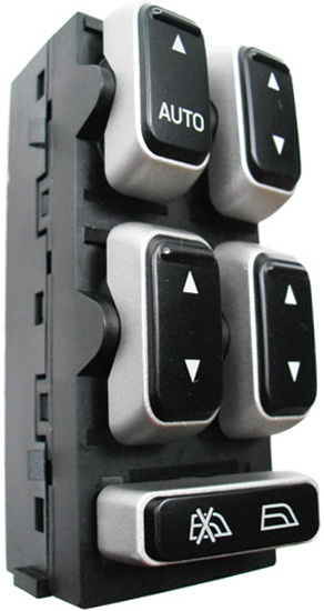 lincoln town car power window switch 2003 2009 oem. Black Bedroom Furniture Sets. Home Design Ideas