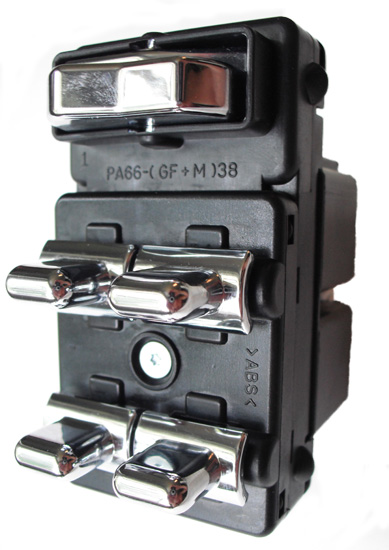 lincoln town car power window switch 1998 2002 oem. Black Bedroom Furniture Sets. Home Design Ideas