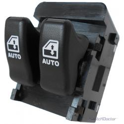 Pontiac Trans Sport Master Power Window Switch 1997-1998 (Black Buttons) (1 Touch Up & Down)