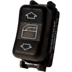 Mercedes Benz 300D Turbo Passenger Power Window Switch 1990-1993 (Rear Right & Center Console)