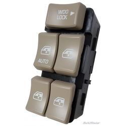 Buick Rendezvous Master Power Window Switch 2002-2007 (Tan Buttons)