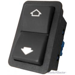 BMW 750il Passenger Power Window Switch 1996