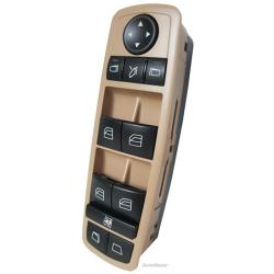 Mercedes-Benz R320 Master Power Window Switch 2007-2009 (folding mirrors and Electric Side Windows) Tan