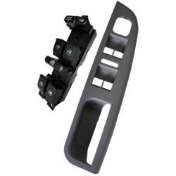 Volkswagen Jetta Window Master Switch and Gray Bezel 1999-2005