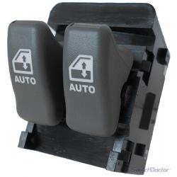 Pontiac Trans Sport Master Power Window Switch 1997-1998 (Gray Buttons) (1 Touch Up & Down)