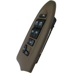 Chevrolet TrailBlazer Master Power Window Switch 2002-2003 OEM (Heated Seats) (Dark Oak)