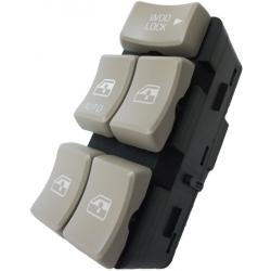 Buick Rendezvous Master Power Window Switch 2002-2007 OEM (Tan Buttons)
