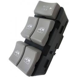 Buick Rendezvous Master Power Window Switch 2002-2007 OEM (Gray Buttons)