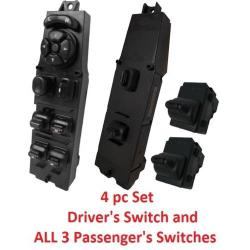 4 Piece Window Switch Set for 1997-2001 Jeep Cherokee